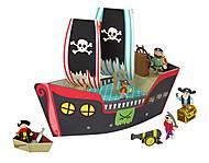 Картонный игровой набор Krooom «Пиратский корабль Купер», K-307, игрушки