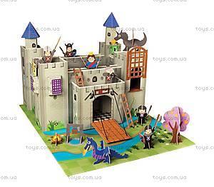 Картонный игровой набор Krooom «Рыцарский замок короля Артура», K-220