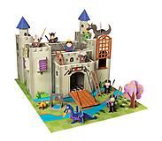 Картонный игровой набор Krooom «Рыцарский замок короля Артура», K-220, фото