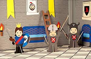 Картонный игровой набор Krooom «Рыцарский замок короля Артура», K-220, отзывы
