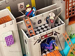 Картонный игровой набор Krooom «Рыцарский замок короля Артура», K-220, игрушки