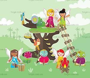 Картонный игровой набор Krooom «Сказочное дерево», K-327, фото