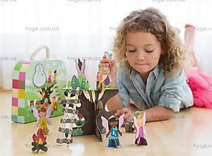 Картонный игровой набор Krooom «Сказочное дерево», K-327, отзывы