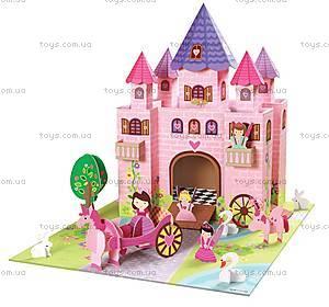 Картонный игровой набор Krooom «Волшебный замок принцессы Тринни», K-219