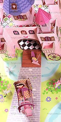 Картонный игровой набор Krooom «Волшебный замок принцессы Тринни», K-219, купить