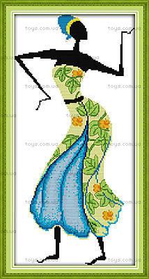 Картина «Африканские мотивы», вышивка, R323(2)