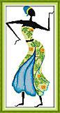 Картина «Африканские мотивы», вышивка, R323(2), фото