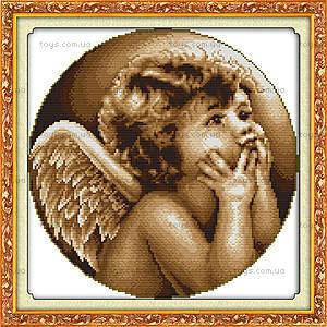 Картина «Ангелочек», вышивка крестиком, R265(3)