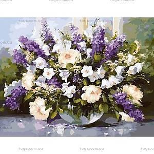 Картина «Большой букет в стеклянной вазе 2», КН1050