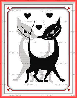Картина «Быть вместе», набор с нитками, D179