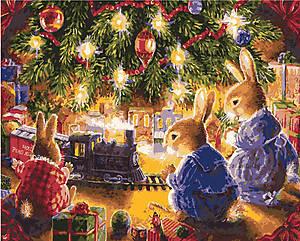 Картина для рисования «Рождественская сказка», КН2452
