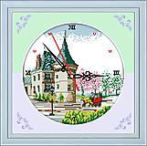 Картина для вышивки «Часы. Замок», G219, фото