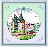 Картина для вышивки «Часы. Замок», G219