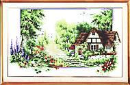 Картина для вышивки крестиком «Лето», F046