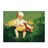 Картина «Два малыша», рисование по номерам, MG1027, купить