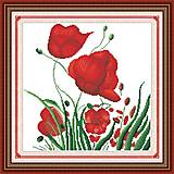 Картина «Краски лета», вышивка крестиком, H137