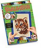 Картина крестиком «Добрый тигр», VK-01-01, toys.com.ua