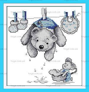 Картина «Любимые игрушки» для вышивки, K427