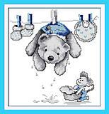 Картина «Любимые игрушки» для вышивки, K427, фото