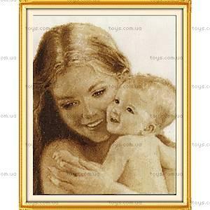 Картина «Мать и дитя» для вышивки крестиком, R045