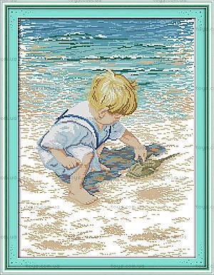 Картина «На побережье» для вышивки крестиком, R481