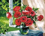 "Картина по номерам + Алмазная мозаика ""Букет на окне"" ★★★★, GZS1102, цена"