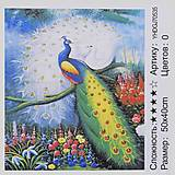 """Картина по номерам + Алмазная мозаика """"Пава"""" ★★★★, 70535, цена"""