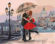 "Картина по номерам + Алмазная мозаика ""Свидание в Венеции"" ★★★★, GZS1005"