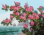 """Картина по номерам + Алмазная мозаика """"Весна на побережье"""" ★★★★, GZS1070, купить"""