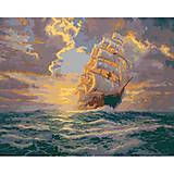 Картина по номерам « Рассвет под парусами», КНО2715, купить