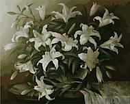 Картина по номерам «Белые лилии», MG1065, купить