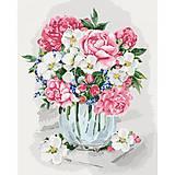 Картина по номерам «Букет в вазе», КНО2099, отзывы