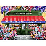 Картина по номерам «Цветочная лавка» ★★★★★, КНО3567, фото