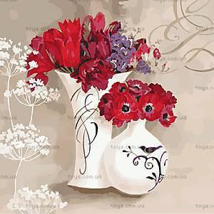 Картина по номерам «Цветочное дыхание», КНО2930