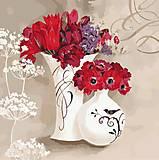 Картина по номерам «Цветочное дыхание», КНО2930, фото