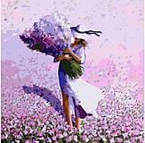 Картина по номерам «Цветочное поле», КНО2660, купить