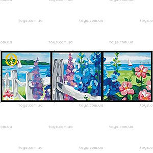 Картина по номерам «Цветущая изгородь», MT3001