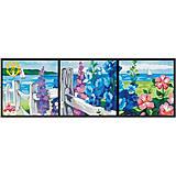 Картина по номерам «Цветущая изгородь», MT3001, фото
