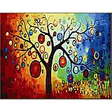 Картина по номерам «Денежное дерево», КН230, фото