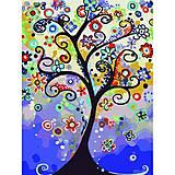 Картина по номерам «Дерево мечты», КНО2824, фото