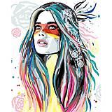 Картина по номерам «Дочь вождя», КНО4584, отзывы