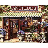 Картина по номерам «Европейский магазинчик», КН113