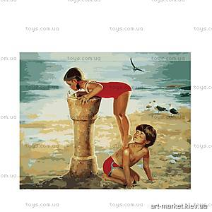 Картина по номерам «Фонтанчик на пляже», MG1022