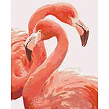 Картина по номерам «Грация фламинго», КНО2446