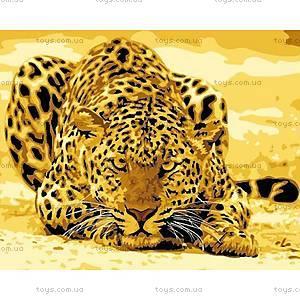 Картина по номерам «Леопард притаился», КН305