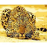 Картина по номерам «Леопард притаился», КН305, купить