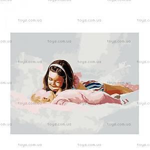 Картина по номерам «Младшая сестричка», MG1039