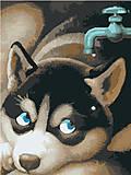 Картина по номерам на холсте «Жажда», КНО2444, фото
