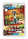 Картина по номерам «Осенняя прогулка», KN-03-04, купить