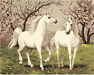 Картина по номерам «Пара единорогов», КН2431, купить